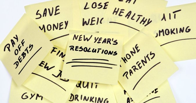 NYE Resolutions